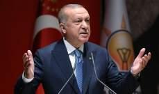 """اردوغان: سنبدأ باستخدام منظومة الدفاع الجوي الروسية """"إس-400"""" بنيسان 2020"""