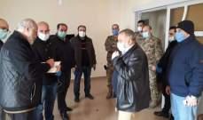 فريق طبي عسكري ومدني جال بمواقع مقترحة للحجر الصحي بعكار