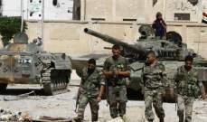 النشرة: الجيش السوري أحبط هجوما شنته فصائل الفتح في القصابية بريف إدلب الجنوبي