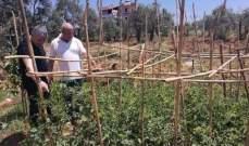 عطالله جال على بعض المزارعين في عدد من بلدات الكورة