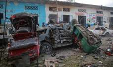 إرتفاع حصيلة ضحايا تفجيري مقديشو إلى 38 قتيلا