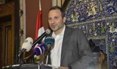 """""""إنكار"""" باسيل لمضمون اتفاق معراب """"ينقّز"""" حزب الله"""