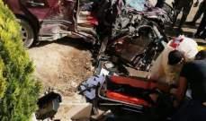 الدفاع المدني: قتيل وجريح جراء حادث سير في اللبوة- بعلبك