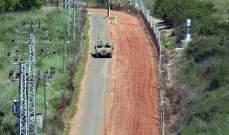 الجيش الاسرائيلي ألقى 4 قنابل صوتية قبالة الوزاني