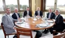 وفد من حزب القوات اللبنانية التقى وفداً من الكونغرس الأميركي