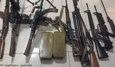 الجيش: توقيف مواطنَين في عكار والضنية بجرم تجارة الأسلحة وضبط كمية منها