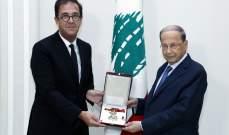 الرئيس عون أكد لفوشيه تمسكه بالمبادرة الفرنسية
