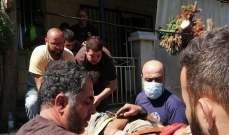 تعرض عامل سوري لصعقة كهربائية في يحشوش