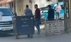 قطع طريق مشتى حسن في عكار إحتجاجا على الوضع الإقتصادي