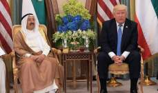 أمير الكويت بعث ببرقية تعزية إلى ترامب بضحايا حادث إطلاق النار في تكساس