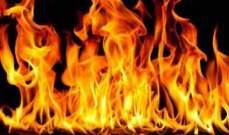 الدفاع المدني: إخماد حريق داخل خيمة للنازحين السوريين في الوردانية