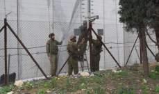 النشرة: قوة اسرائيلية مشطت الطريق العسكري المحاذي للسياج الحدودي ما بين تلال الوزاني ووادي العسل