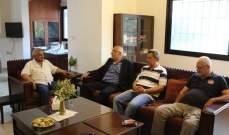 سعد التقى وفدا من الجبهة الشعبية لتحرير فلسطين: لإسقاط صفقة القرن وجريمة ضم الضفة الغربية