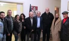 حمدان استقبل رئيس التجمع الوطني الديمقراطي: لمتابعة التحقيقات وكشف الفساد بوزارة الصحة