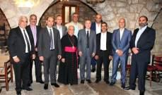 أمين الجميل: ندعم بلدية عين الخروبة لتحقيق أهدافها على صعيد التنمية والخدمات