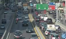 التحكم المروري: تعطل مركبة على جسر الكولا وحركة المرور كثيفة