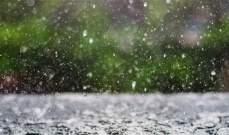 أمطار وبرق ورعد في قرى جرد الضنية وتدن بدرجات الحرارة وتشكل سيول على الطرق