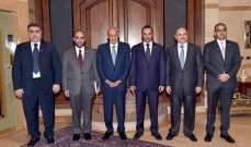 بري يعرض مع الغانم التعاون بين البرلمانين اللبناني والكويتي ويستقبل رياشي والهيئات الإقتصادية