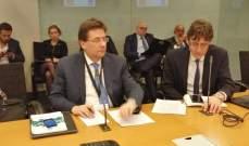 كنعان من واشنطن: مسألة النازحين لا يجوز ان تدخل في حسابات البنك الدولي الاستثمارية