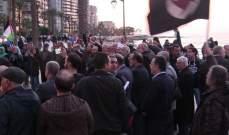 الجبهة العربية التقدمية أحيت الذكرى 43 ليوم الأرض في عين المريسة