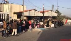 النشرة: الحدود السورية اللبنانية سيتم فتحها من جهة سوريا اعتبارا من ٢٧ تموز الحالي
