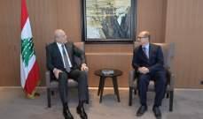 ميقاتي عرض مع سفير النمسا العلاقات بين البلدين