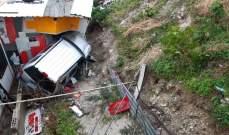 النشرة: إنقلاب سيارة رباعية الدفع في الهمشري شرقي صيدا ونجاة سائقها