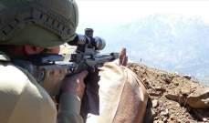 """الدفاع التركية: القضاء على 4 """"إرهابيين"""" في غارة جوية شمالي العراق"""