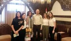 لجنة مهرجانات صيدا اطلعت المحافظ ضو والعميد شحادة  على التحضيرات