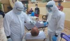 """""""النشرة"""": اصابتان بفيروس كورونا في مخيم عين الحلوة"""