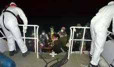 سلطات تركيا: إنقاذ 28 طالب لجوء أجبرتهم اليونان بالعودة لمياه تركيا