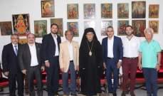درويش التقى رئيس حزب الرامغافار على رأس وفد من الحزب