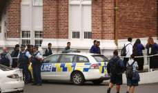 الشرطة النيوزيلندية: منفذ هجوم المسجدين تصرف منفردا لكن ربما تلقى دعما