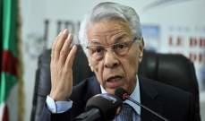 رئيس الحكومة الجزائرية الأسبق أعلن عن عدم المشاركة في الانتخابات الرئاسية