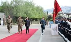قائد الجيش تداول مع رئيس أركان الدفاع الإيطالي بعلاقات التعاون بين جيشي البلدين