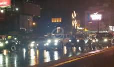 النشرة: مسيرة سيارة على اوتوستراد جل الديب