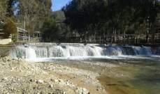 النشرة: ارتفاع منسوب نهر الحاصباني بعد ذوبان الثلوج أدى لحدوث فيضانات