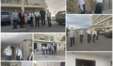 خير اطلع على تأهيل القسم الخاص بعلاج السجناء في مستشفى ضهر الباشق
