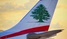 """طيران الشرق الاوسط ذكرت المسافرين الى روما وميلانو بعدم إمكانية السفر """"الذهاب والعودة"""" خلال أسبوع"""