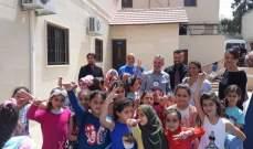 رئيس البعثة الدولية للصليب الأحمر في لبنان يزور مركز ألوان في عين الحلوة