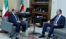 الرئيس عون استقبل النائب الياس بو صعب الذي أجرى معه جولة أفق