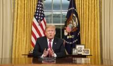 ترامب: سننسحب من سوريا بعد تحقيق النصر مئة بالمئة على داعش