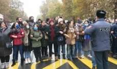 محتجون بدأوا بإغلاق شوارع يريفان مطالبين باستقالة رئيس وزراء أرمينيا