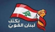 تكتل لبنان القوي ترك الحرية لنوابة للمشاركة بجلسة مجلس النواب اليوم: المجلس مُطلب بانتاج القوانين المطلوبة