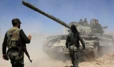 """النشرة: الجيش السوري دمّر مواقع لـ""""جبهة النصرة"""" و""""كتائب العز"""" بريفي حماة وإدلب"""