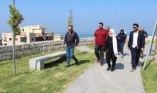 """حديقة جديدة في """"الشرحبيل"""" بمبادرة من بلدية بقسطا"""
