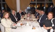 قليموس في عشاء تكريمي للصحافة: لإنجاز خطة نهوض بالوطن