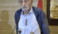 جنبلاط بعد لقائه بري: يجب أن يكون هناك تحقيق شفاف بالجريمة التي حصلت بحق المتظاهرين في الطيونة