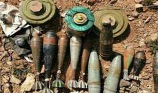 """""""سانا"""": العثور على بقايا مشفى ميداني ومفخخات من مخلفات """"داعش"""" في بادية السويداء"""