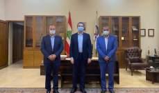 محافظ البقاع التقى وفد اللجنة الصحية لإدارة كوارث البقاع بحزب الله